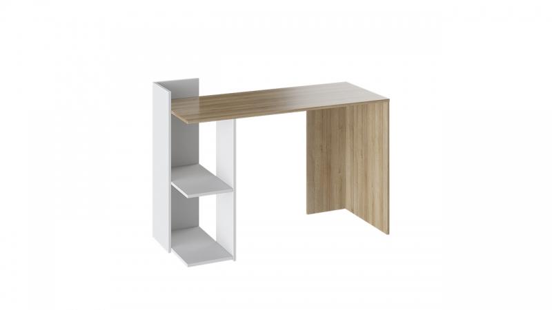- Стол письменный тип 1 (Дуб Ривьера/Белый)