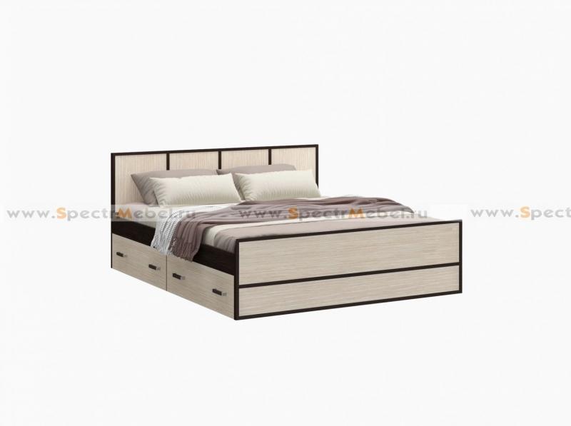 - Кровать с ящиками 1650x800x2034 с матрасом в комплекте