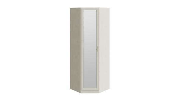 Шкаф угловой с зеркальной дверью «Лючия» (Штрихлак)