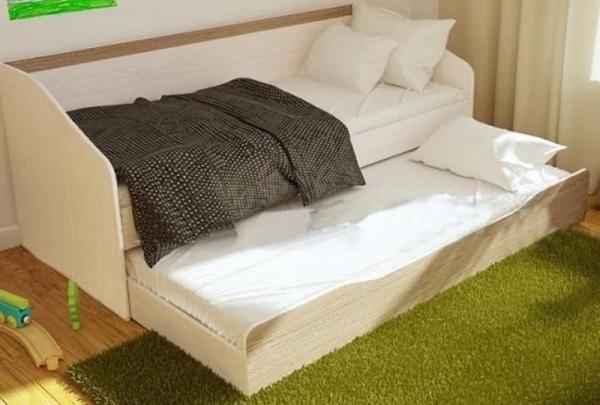 Кровать двухъярусная Паскаль с ящиком ШхВхГ 1932х790х850 мм