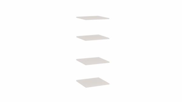 Комплект полок шкафа «Саванна» (Саванна)