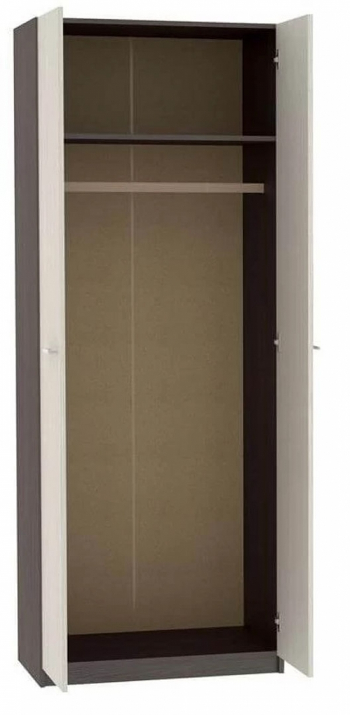 Шкаф двухстворчатый с зеркалами ВxШxГ 2124x700x446 мм