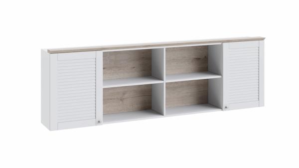 Шкаф настенный «Ривьера» (Дуб Бонифацио/Белый)
