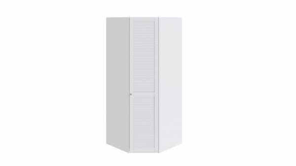 Шкаф угловой с 1-ой дверью правый «Ривьера» (Белый)