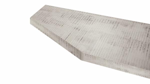Крышка стола торцевая 40х450х1500 левая (Daily)