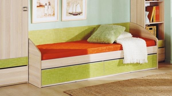 Кровать с 2-мя ящиками «Киви» (Панареа)