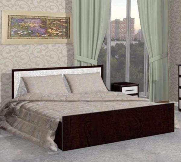 Кровать Барселона 1635х800х2035 мм кожа рептилия