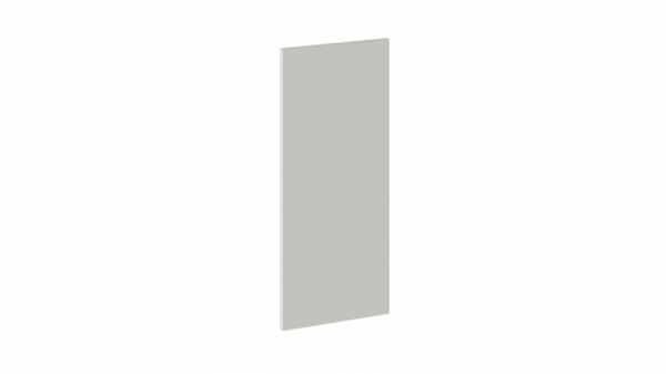 Панель боковая декоративная (Верхняя) (ОДРИ (Бежевый шелк))