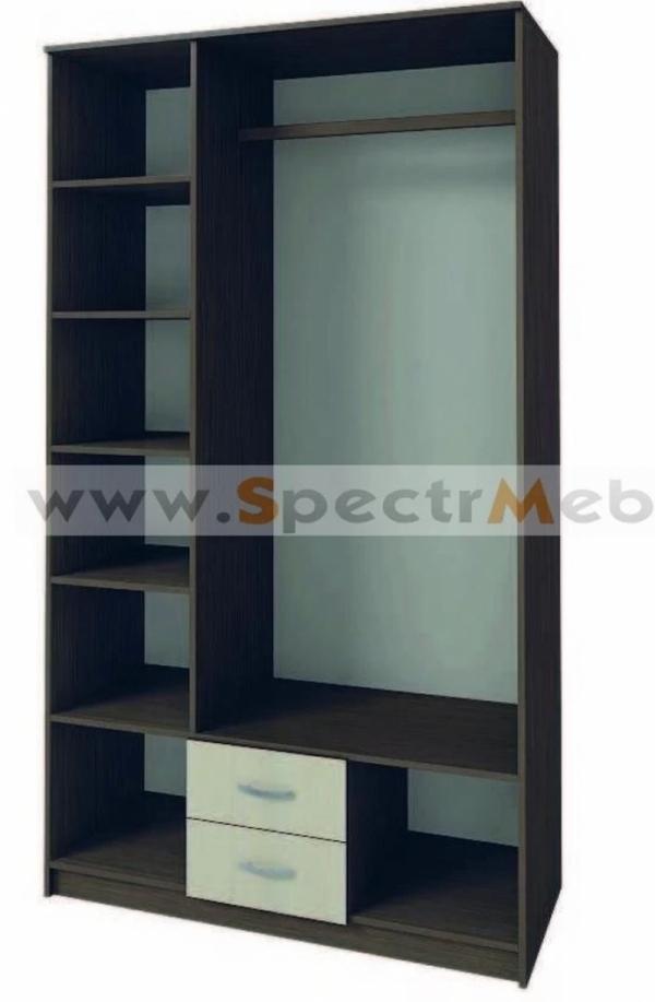 Шкаф трехстворчатый Рефрен с зеркалом