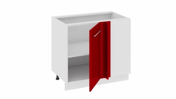 Шкаф напольный с планками для формирования угла Н_72-90_1ДРпУ (АССОРТИ (Вишня))