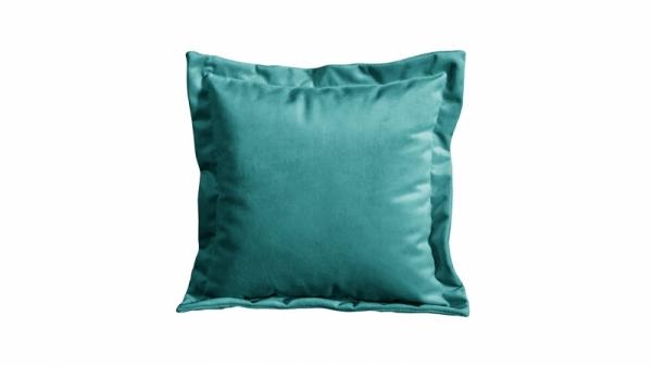 Подушка малая П2 (Beauty 06 (велюр) изумрудный)