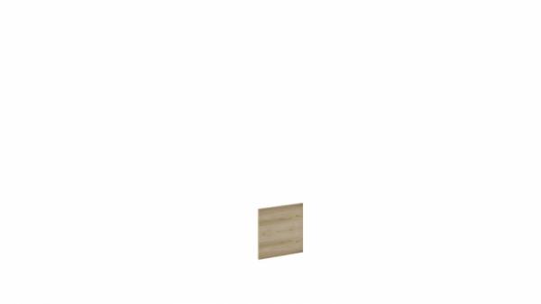 Дверь «Литл» (Дуб Ривьера)