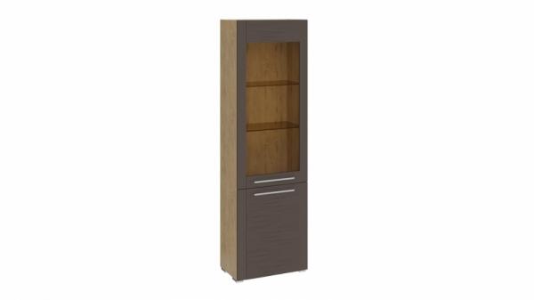 Шкаф для посуды с 2 дверями «Николь» (Бунратти/Фон Коричневый)