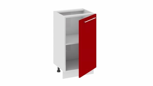 Шкаф напольный нестандартный Нн_72-45_1ДР (АССОРТИ (Вишня))