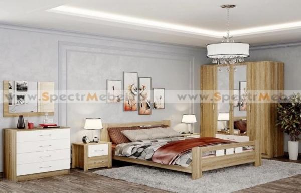 Спальный гарнитур Сопрано 03