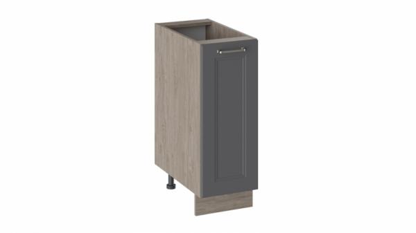 Шкаф напольный Н_72-30_1ДР (ОДРИ (Серый шелк))