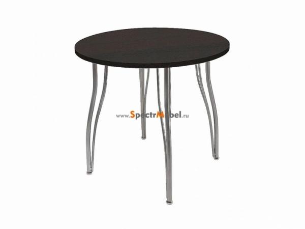 Стол круглый ВхД 745х830 мм фигурные опоры