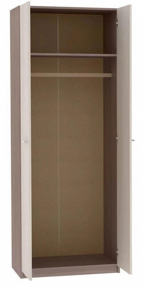 Шкаф двухстворчатый малый с зеркалами ВxШxГ 2124x800x510