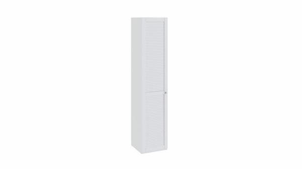Шкаф для белья с 1-ой дверью левый «Ривьера» (Белый)