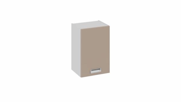 Шкаф навесной (правый) В_60-40_1ДР(Б) (БЬЮТИ (Капучино))