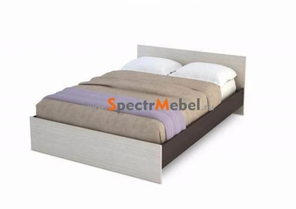 Кровать с матрасом 140х200 в\дб кр-557