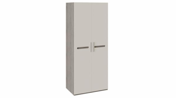 Шкаф для одежды с 2-мя дверями «Фьюжн» (Бежевый, Дуб Сонома трюфель)