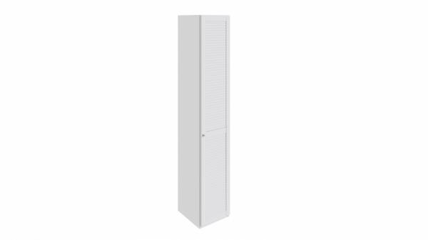 Шкаф торцевой с 1-ой дверью правый «Ривьера» (Белый)