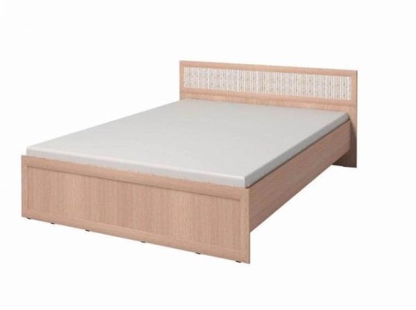 Кровать 180 Милана дуб ШxГxВ 1970x2034x805 мм