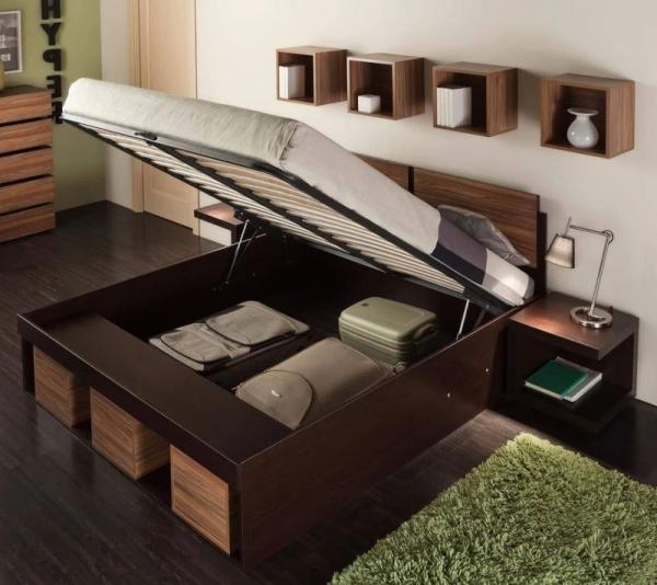 Кровать двуспальная Хайпер 160x200 с подъемным механизмом