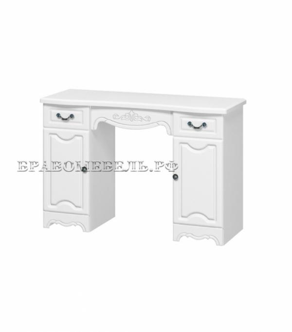 """Макияжный стол """"Лотос"""" белый"""
