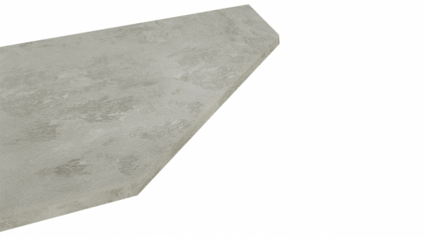 Крышка стола торцевая 40х600х1500 правая (Бетао)