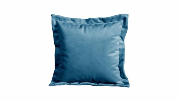 Подушка малая П2 (Beauty 07 (велюр) синий)