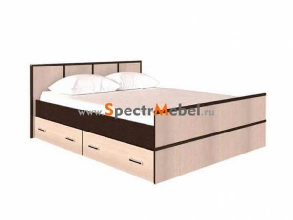 """Кровать """"Сакура"""" с ящиками 1550х860х2034 с матрасом в комплекте"""