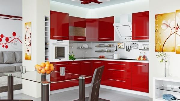 Модульная кухня «Ассорти» (АССОРТИ (Вишня))