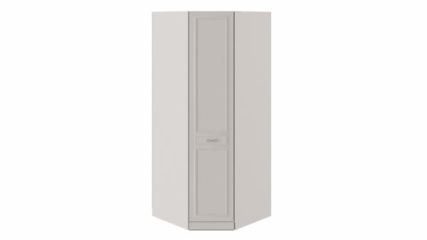 Шкаф угловой с 1 глухой дверью левый «Сабрина» (Кашемир)