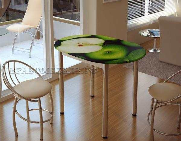Стол обеденный (яблоко)