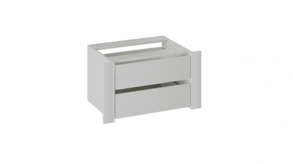 Модуль с 2-мя ящиками «Румер» (Белый снег)