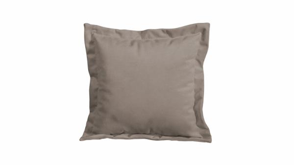 Подушка малая П2 (Miami 03 (рогожка) серо-коричневый)