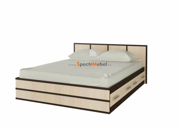 """Кровать """"Сакура-2"""" с ящиками 1450х800х2034 с матрасом в комплекте"""