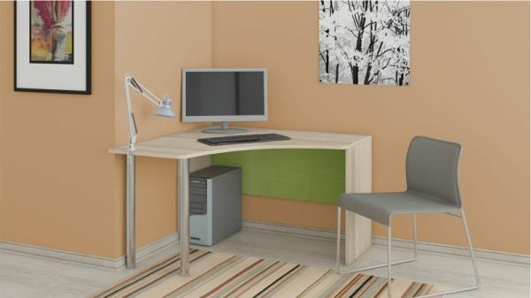 Угловой письменный стол «Киви» (Панареа, Ясень Коимбра)