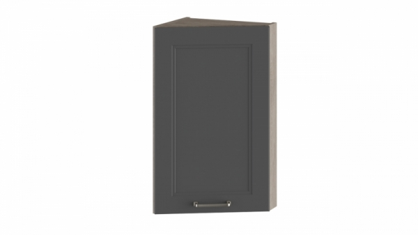 Шкаф навесной торцевой ВТ_72-40(45)_1ДР Серая 72 см