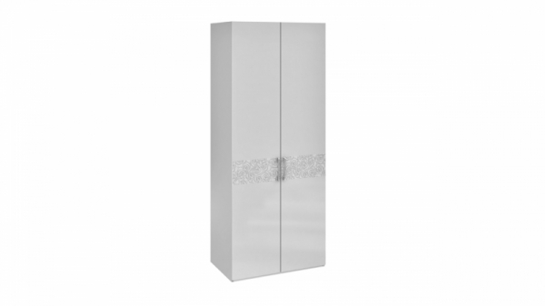 Шкаф с 2-мя дверями «Амели» (Белый глянец)