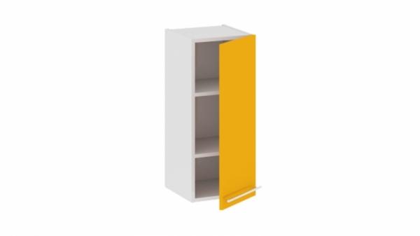 Шкаф навесной В_72-30_1ДР Желтая 72 см