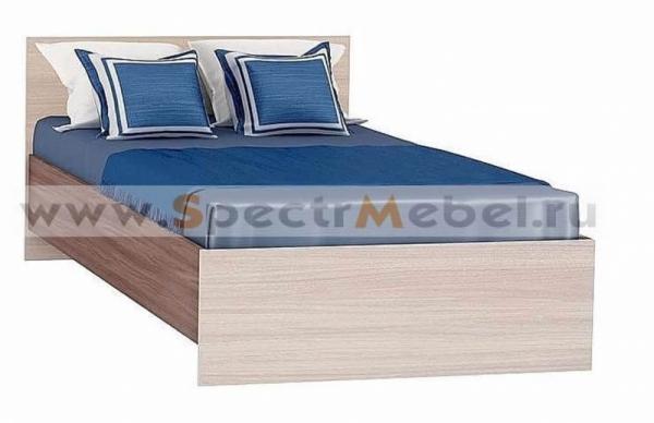 Кровать 90 Бася кр-555 ясень шимо
