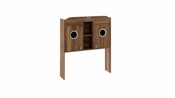 Шкаф настольный с иллюминатором «Навигатор» (Дуб Каньон)