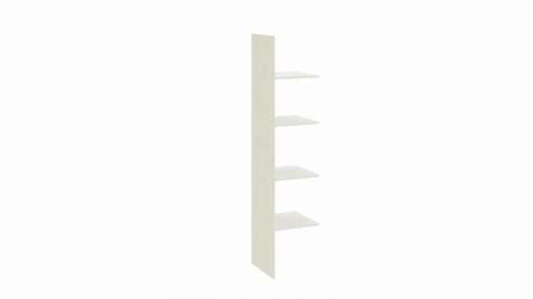 Комплект полок с перегородкой шкафа для одежды «Лючия» (Штрихлак)