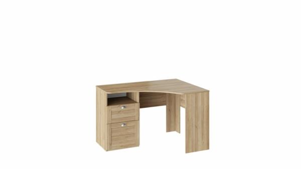 Угловой письменный стол с ящиками «Ривьера» (Дуб Ривьера)