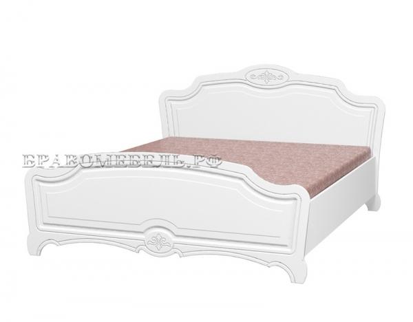 """Кровать """"Лотос"""" белый"""