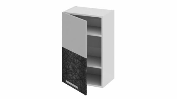 Шкаф навесной (левый) В_72-45_1ДР(А) Белая 72 см
