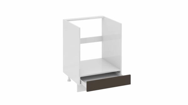 Шкаф напольный под бытовую технику с 1-м ящиком НБ1я_72(12)-60_1Я Серая